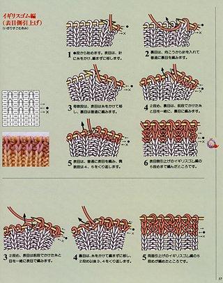 Knitting Pattern Symbols : Fluffbuff: Japanese knitting symbols