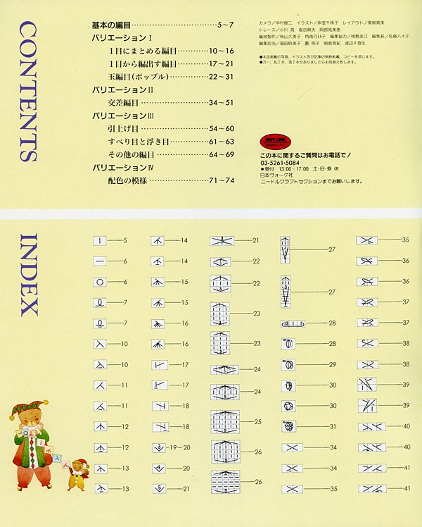 Knitting Chart Symbols Font : Knitting symbols video search engine at