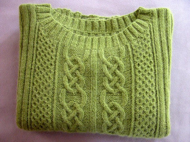 Celtic Knot Cable Knitting Pattern