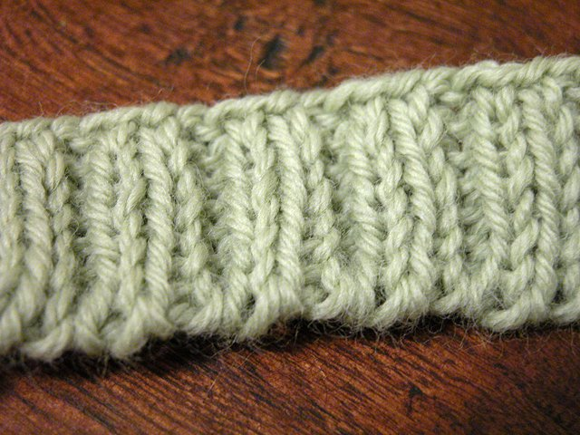 How to Knit thread.
