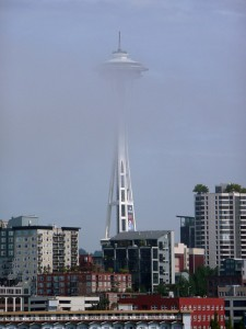 Not the right day to go on the Space Needle