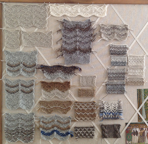 Ideas for feather motifs